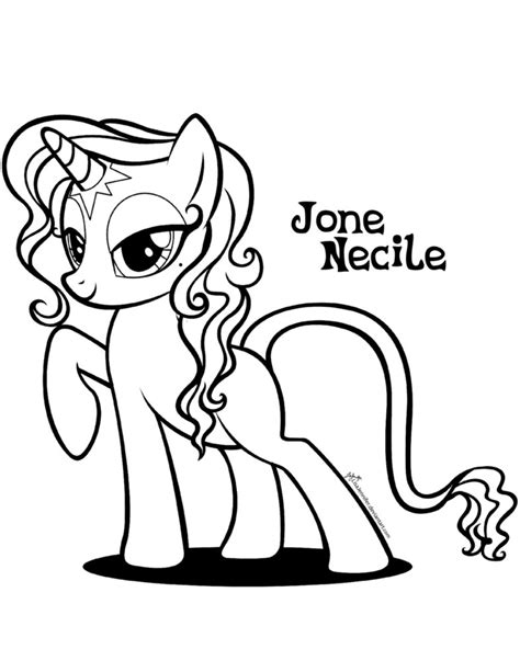 free coloring pages of fillies mlp