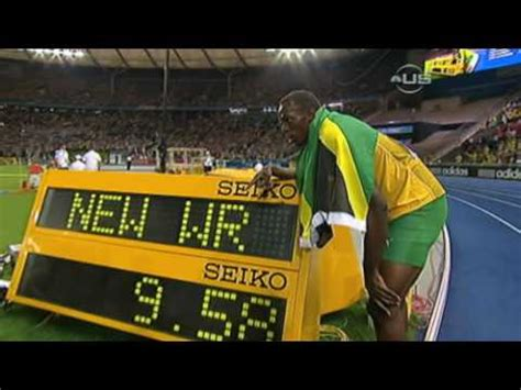 Recent Records Usain Bolt Beats And Sets New Record From Universal Sports
