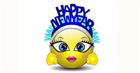 happy new year smileys animated happy new year talking smiley new year s happy and