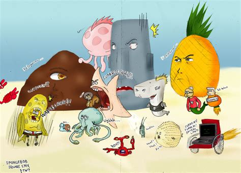 Bantal 9 Pcs Sponge Bob Mobil All New Alphard the new version of spongebob by iamadraculaninja on deviantart