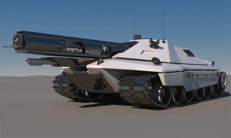 future military vehicles sci fi future tank concept 3d model max obj fbx