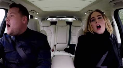 james corden and adele relationship carpool karaoke with adele and james corden random republika