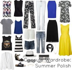 summer capsule wardrobe with wardrobe oxygen