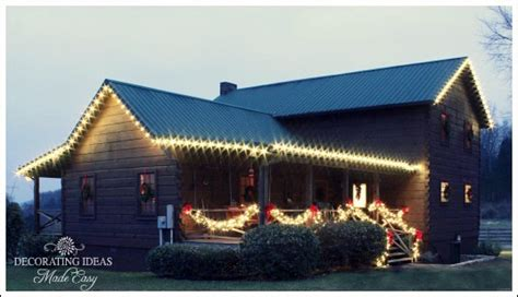 Country Cabin Plans christmas light ideas to make the season sparkle