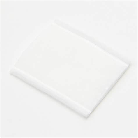 Muji Cotton 5cm X 6 Cm 5pad muji japan white 6x5cm cosmetic cotton puff 189pc pads makeup remover ebay