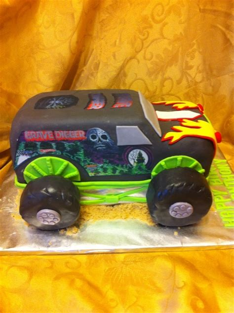 grave digger truck supplies best 25 grave digger cake ideas on