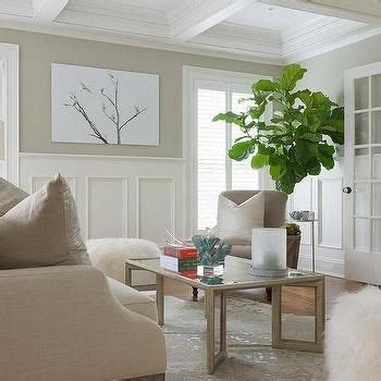 Wainscoting Living Room Pictures by White And Room With Wainscoting Living Room In