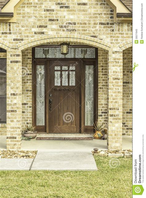 front door view decorative front door view stock photos image 35571943