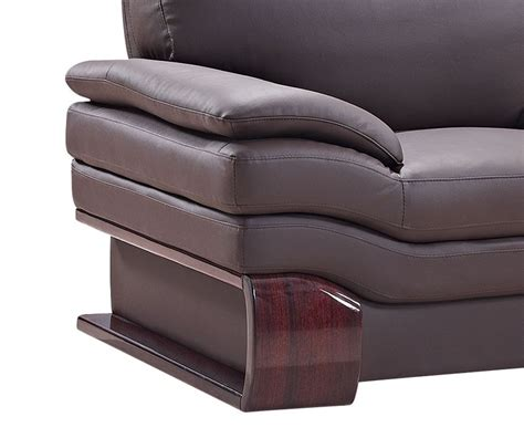 real leather sofa brown genuine leather sofa
