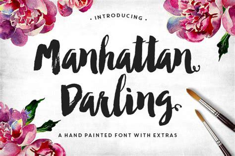 design font brush 10 modern brush lettered fonts you ll love