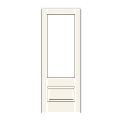 Special Order Interior Doors 501 1 Lite 1 Panel Craftwood Products For Builders And Designers In Chicago