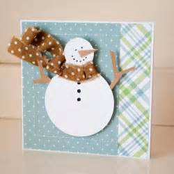 cards greeting cards handmade snowman merry