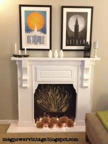 Faux Fireplace Diy Faux Fireplace For The Home