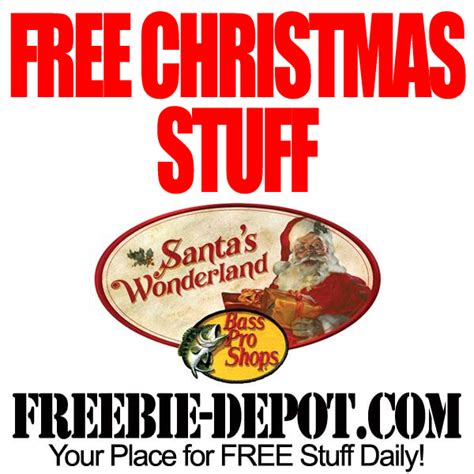 Where Can I Get A Bass Pro Gift Card - free santa s wonderland at bass pro freebie depot