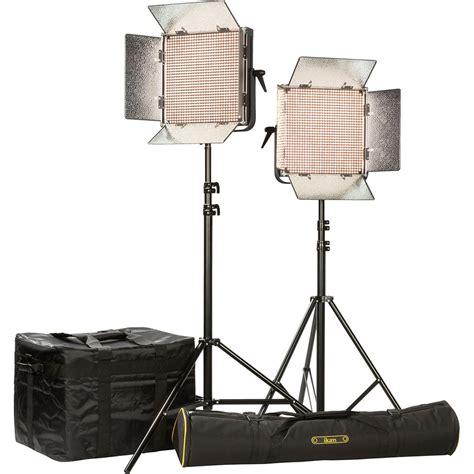 ikan ib1000 plus 2 light kit with gold mount ib1000 plus