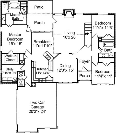 the perfect house plan perfect golf community house plan 60004rc 1st floor