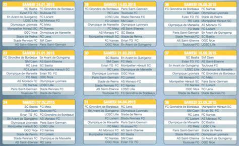 Calendrier Psg Chions League 2016 Calendrier De La Ligue 1 Saison 2014 2015 Toutes Les Dates