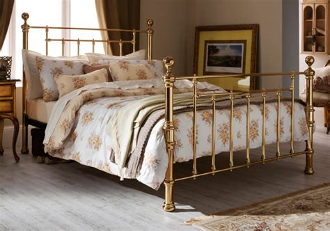 of the week benjamin brass metal bed frame