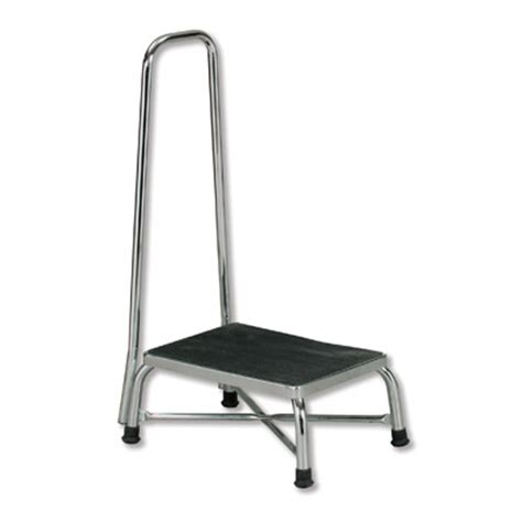 bariatric step stool with two handrails bariatric step stool with handrail step stool chrome
