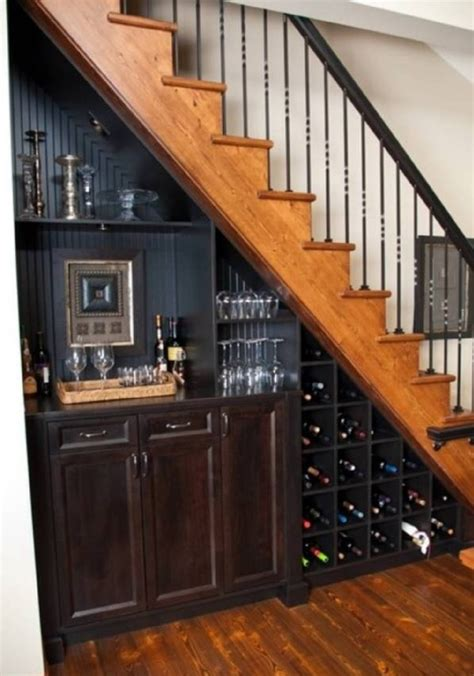 stairs wine rack 22 ingenious home designs guaranteed to make your easier