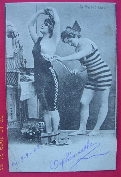Furniture Store Kitchener vintage 1905 belgium risque postcard quot la vie balneaire