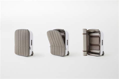 designboom used2b nendo s kame suitcase for fabbrica pelletterie milano