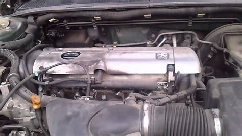 peugeot 406 engine peugeot 406 2 0l engine wobble youtube