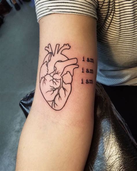 male heart tattoo designs awesome trends 40 trending anatomical