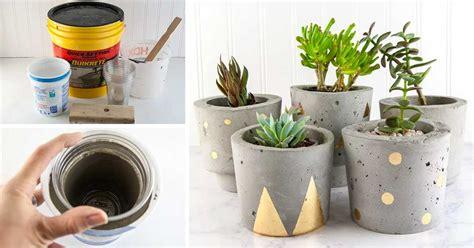 Idee Design Casa Fai Da Te by Oggetti D Arredo Fai Da Te Utilizzando Il Cemento 15