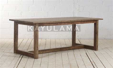 Recycled Teak Dining Table Recycled Teak Furniture D Shutter Dining Table Kayu Lama