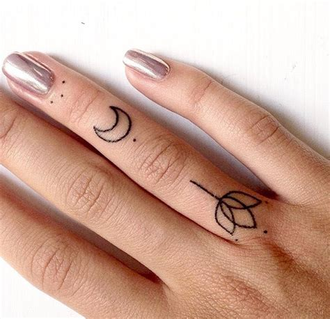 minimalist tattoo hand finger tat work of art pinterest finger tats