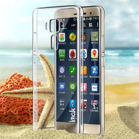 Imak Clear Shell Air Asus Zenfone 6 for asus zenfone 3 ze552kl cover original imak clear