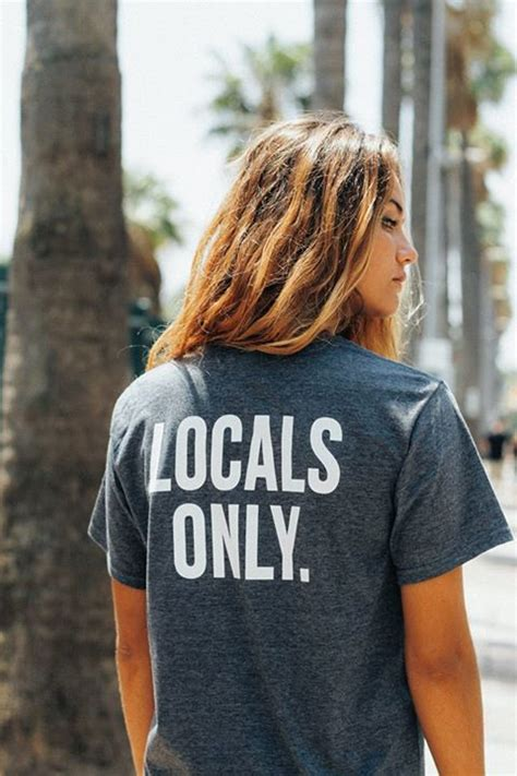 Locals Only locals only