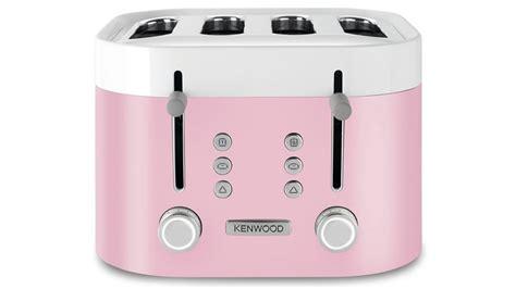 Kenwood Pink Toaster kenwood ksense 4 slice toaster white pink toasters