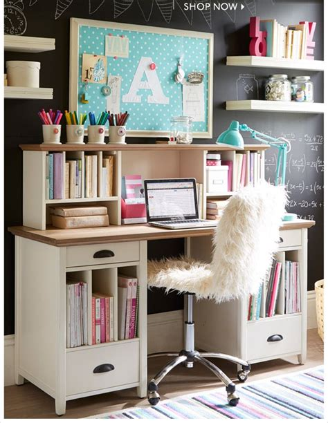 Desks For Teenage Girls | stylish teen desks dig this design