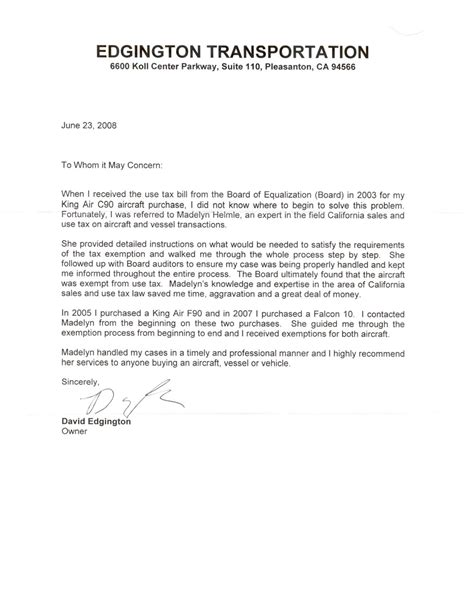 Letter Of Recommendation Professional best photos of professional reference letter for