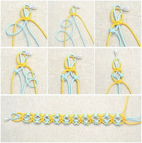 Easy Macrame Knots - 25 best ideas about diy friendship bracelets on
