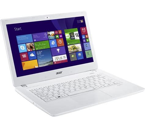 Laptop Acer Aspire V3 buy acer aspire v3 371 13 3 quot laptop white free delivery currys