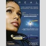 Loreal Mascara Ads | 291 x 400 jpeg 22kB