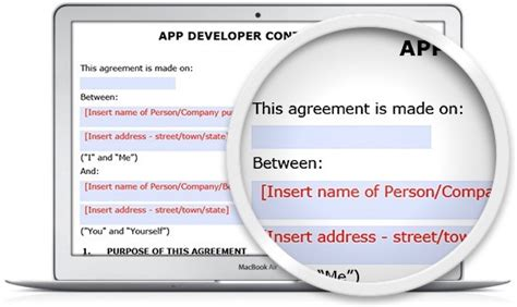 app developer contract legal123 com au