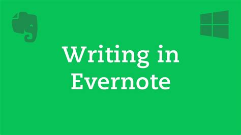 like evernote but better 2 writing in evernote windows