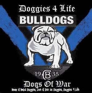 Canterbury bankstown bulldogs logo artwork photos commercial club