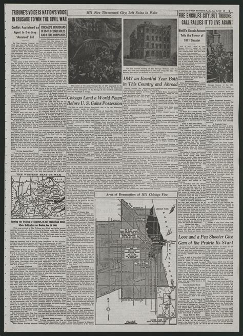 chicago tribune business section michigan state university libraries digital and