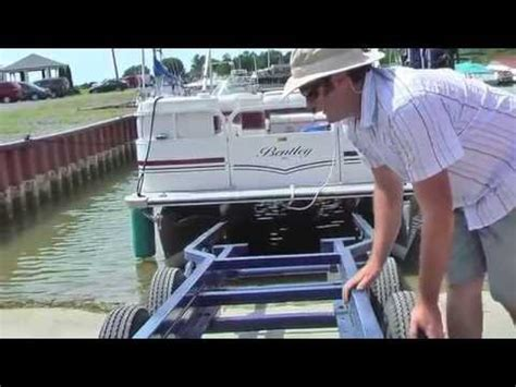 brownell manual boat lifting system trailer mounted boat lift doovi