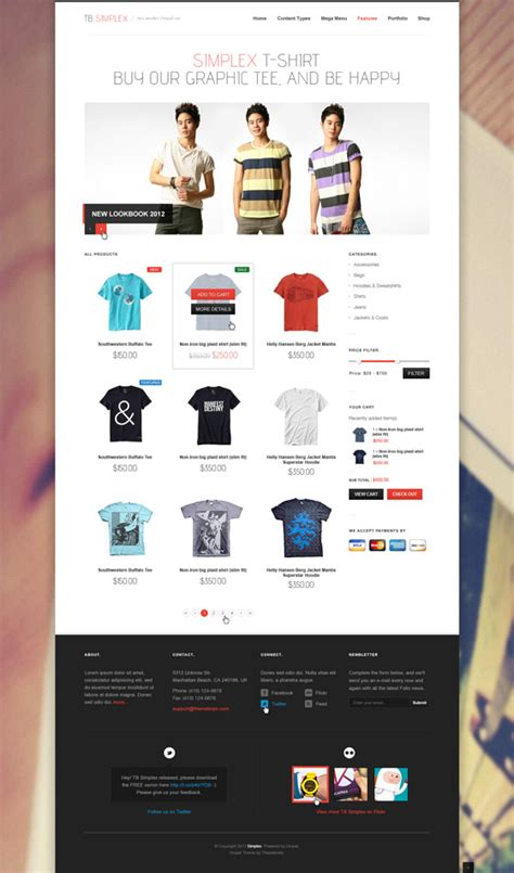drupal themes online shop drupal ecommerce themes free sandrafrota com br
