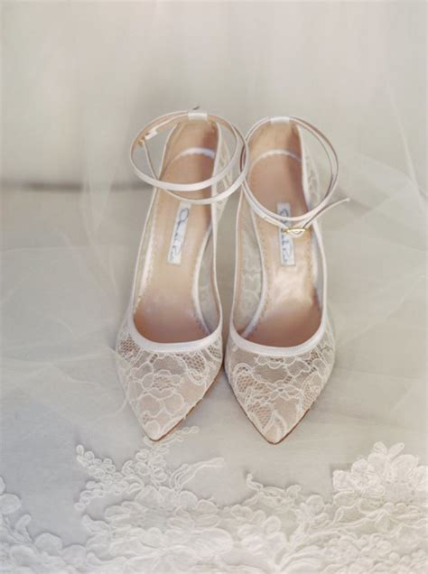 Lace Wedding Shoes For by Wedding Shoes Tulle Chantilly Wedding