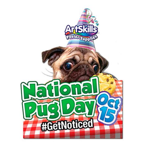when is national pug day make a national pug day poster national pug day poster idea