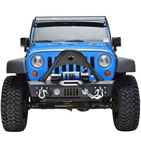 Stinger Jeep Bumper Gsi Jeep Jk Wrangler Black Stinger Front Bumper With Winch