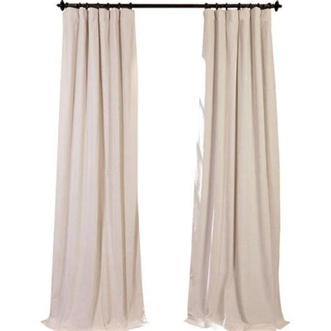 ivory velvet curtains heath barstool joss and main blackout curtains and