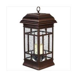 westinghouse solar led patio lantern recharges in sun